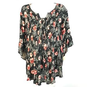 Style & Co top floral